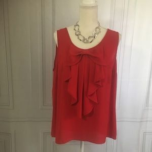 New Directions red top, New without tags, Size Xl
